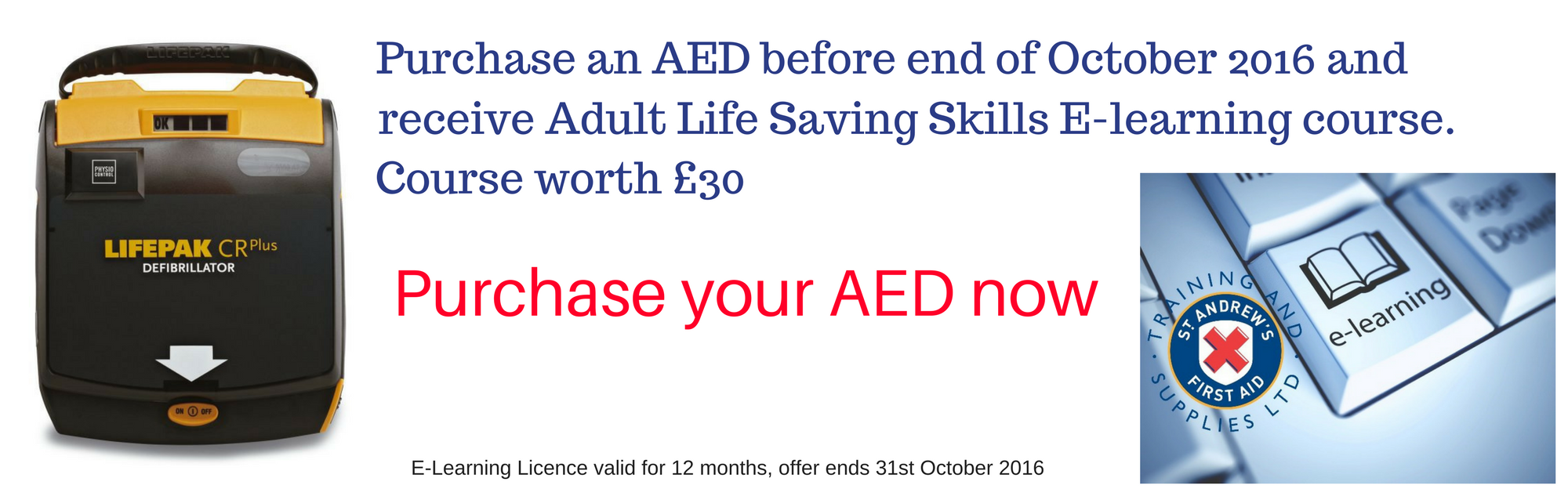 Purchase an AED