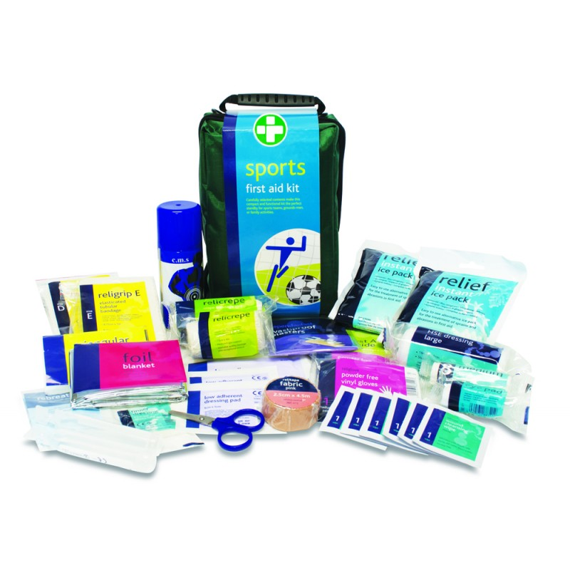 Sports First Aid Kit & Contents