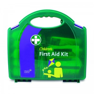 childrens first aid kit in aura box
