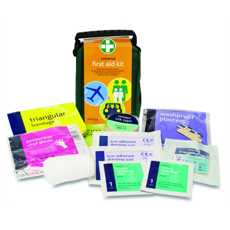 Universal First Aid Kit Small & Contents
