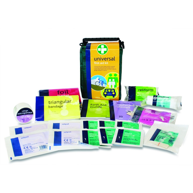 Universal First Aid Kit Medium & Contents