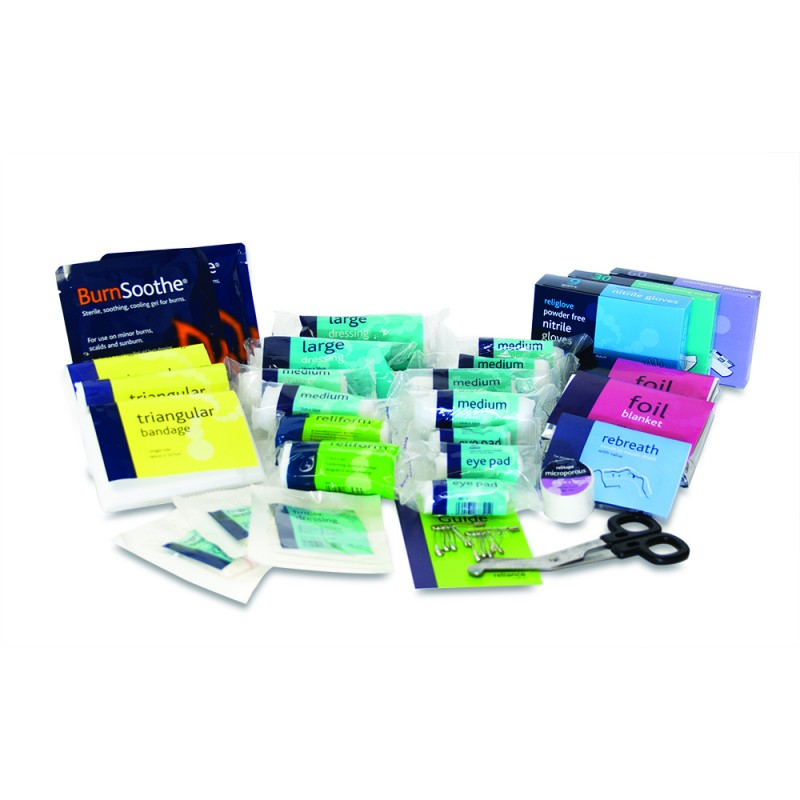 workplace medium first aid refill kit