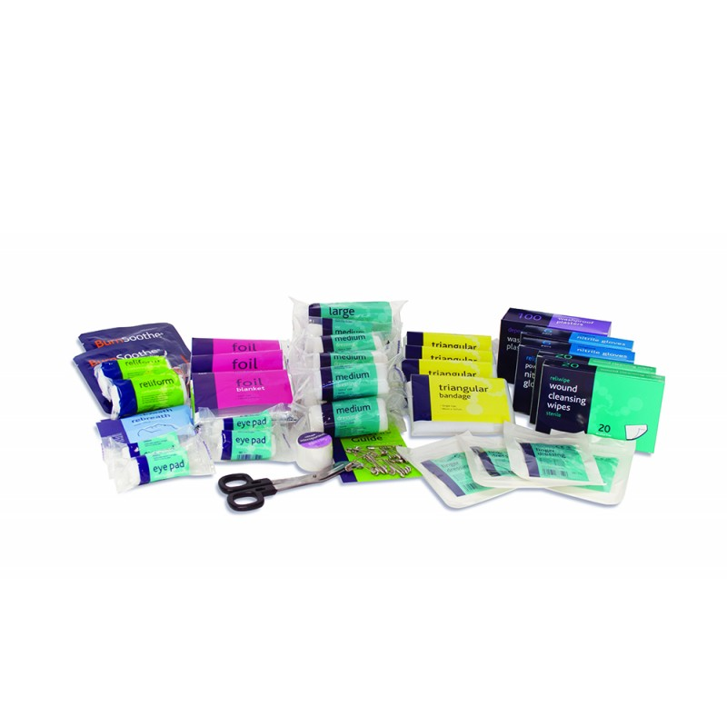 workplace large first aid refill kit