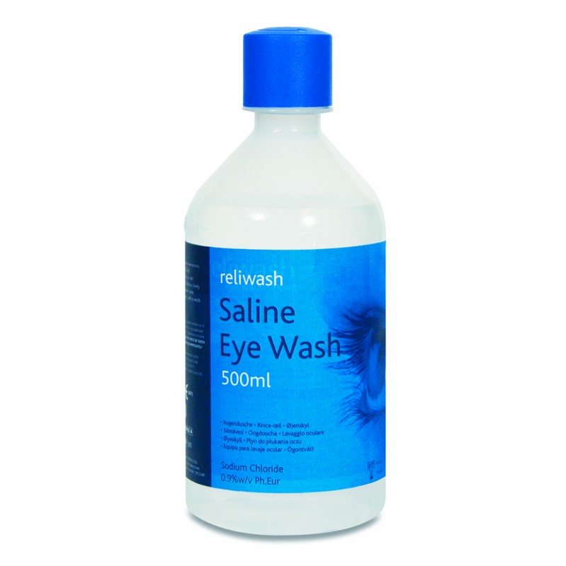 eyewash 500ml bottle