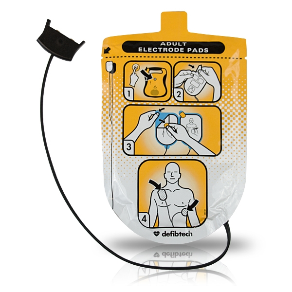 defibtech replacementadult training pads