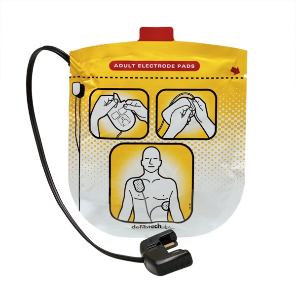 adult defibrillation pads one set for lifeline view