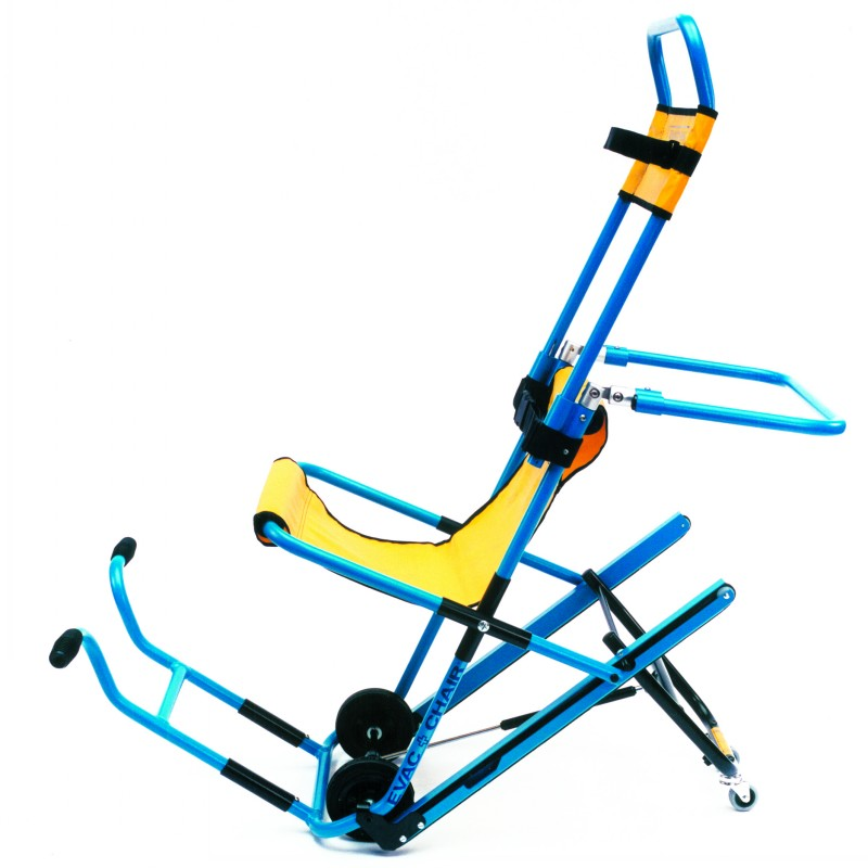 evac+chair with lifting handles