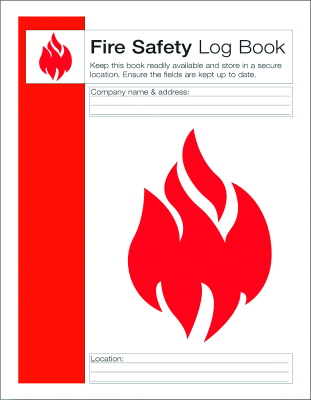 fire alarm log book template - fire safety log book st andrews first aid