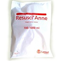 CPR Resus Annie Lung pack