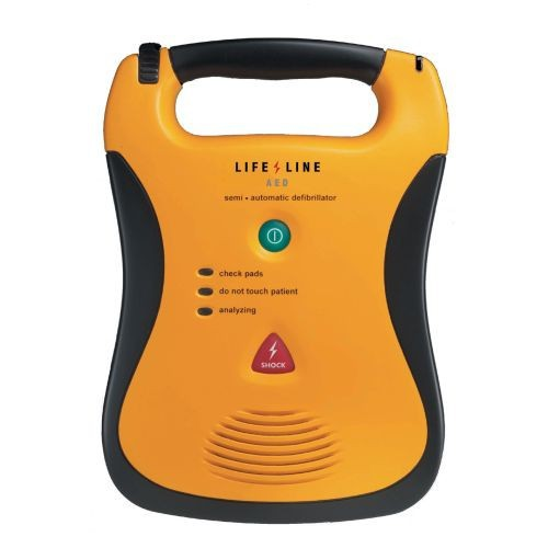 lifeline semi automatic defibrillator 7 year battery pack