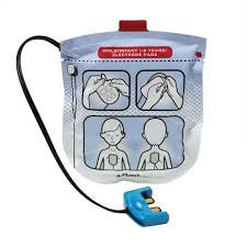 paediatric defibrillator pads one set for lifeline view