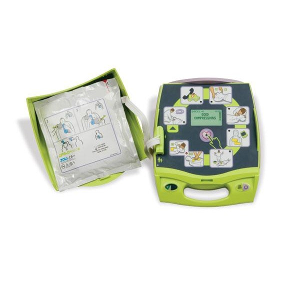 Zoll AED Plus Semi Automatic Defibrillator + FREE Online Course worth £30