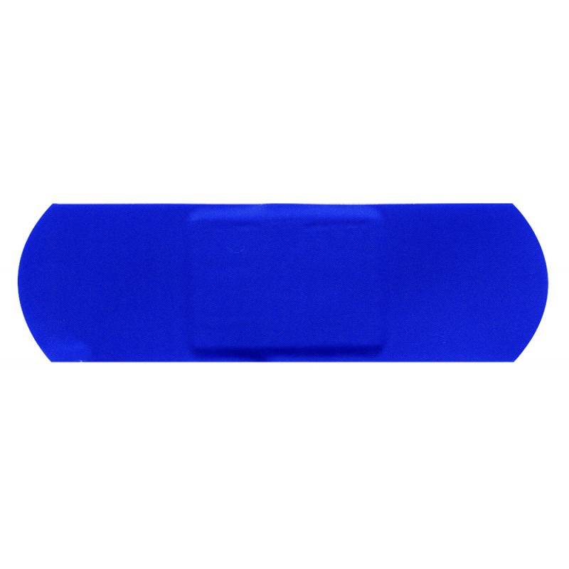 blue plasters 4cm x 2cm box of 100
