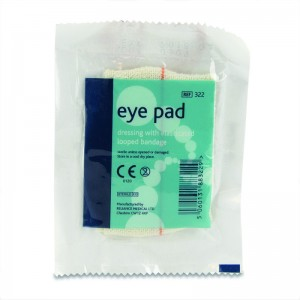 eye pad dressing with loop pack of 10
