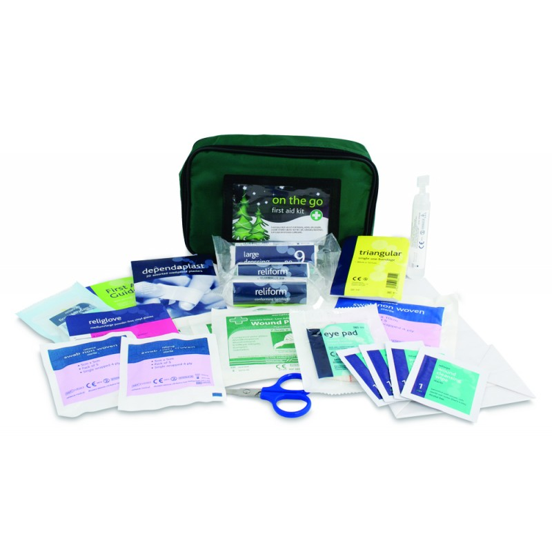 On-the-go medium first aid kit