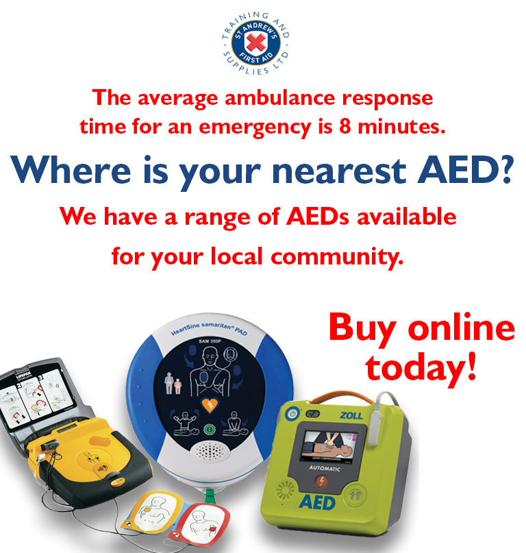 AED in your community banner