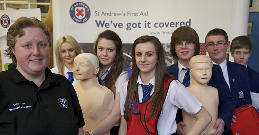 what your donation means to us - St Andrew's First Aid