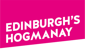 Events we cover and our clients - edinburgh's hogmanay logo