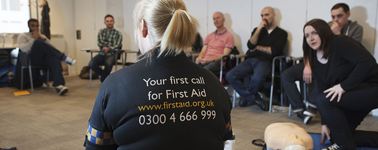 Workplace first aid training in Glasgow