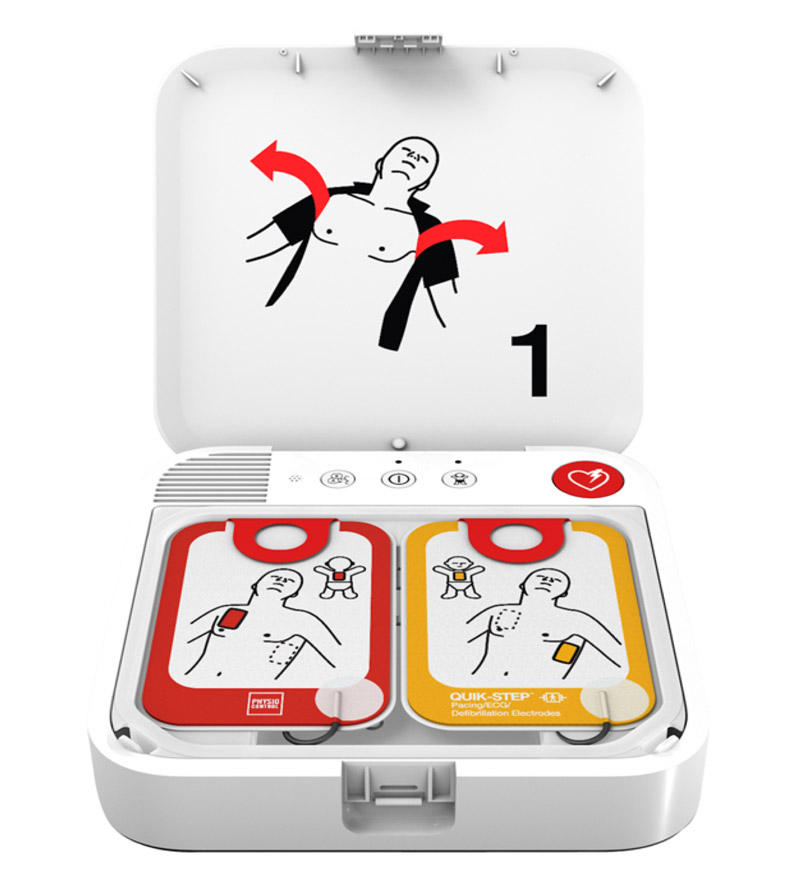 Lifepak Cr2 Fully Automatic Defibrillator With Handle And