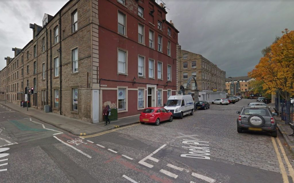 Edinburgh First Aid Training centre from commercial street