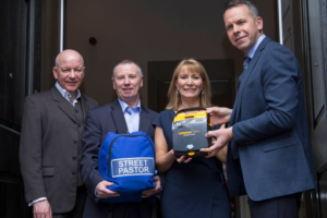 Street Pastors Glasgow with AED