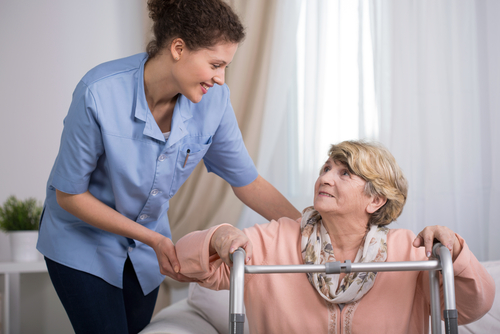 first aid in a care home