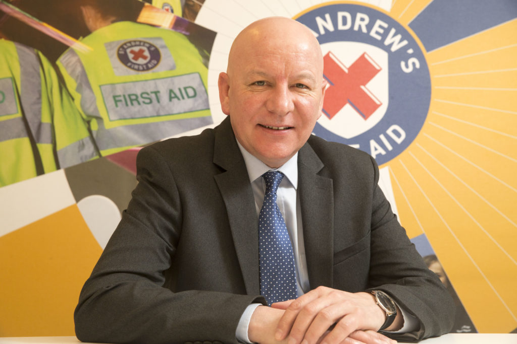 Jim Dorman, Operations and Policy Director, St Andrew's First Aid